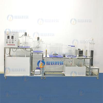 A2O工艺+竖流式沉淀池+臭氧生物活性炭池(氧气源)