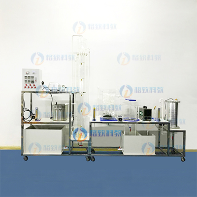 UASB+接触氧化+竖流式沉淀池+光催实验室设备