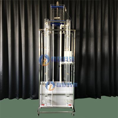 自由沉降实验装置4组