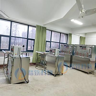 淮海工学院综合传热性能实验台等热工基础实验室设备安装现场
